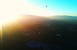 Photo of the Week: Hot Air Balloon Ride in Napa