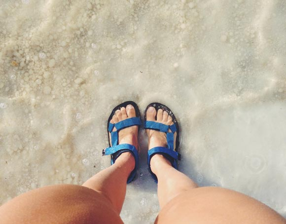 teva original sandals blue