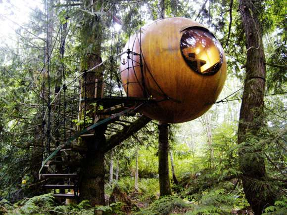 Grown Up Tree Houses That Will Blow Your Mind