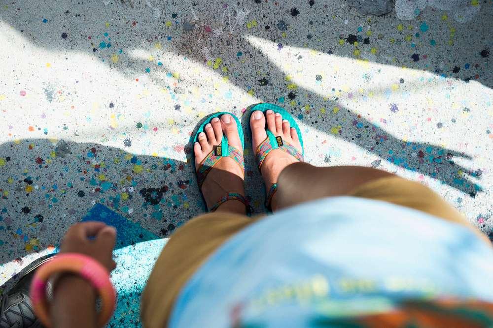 Teva Sandals New Orleans ~ Hippie Sandals