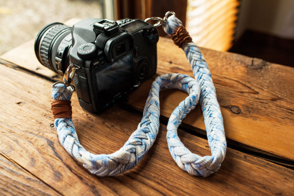 DIY Braided Fabric Camera Strap with Leah Duncan