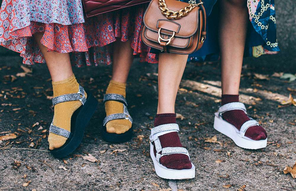 Teva Blog Ember The Suarez Sisters In Socks And Sandals