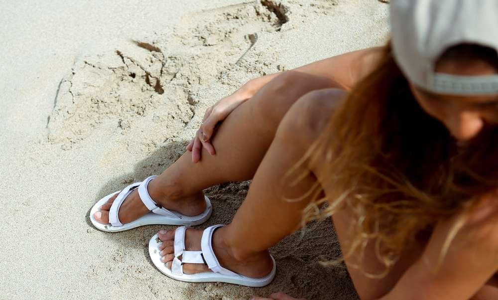9a18585b1e60 Bree Hannemann wears her favorite Teva sandal