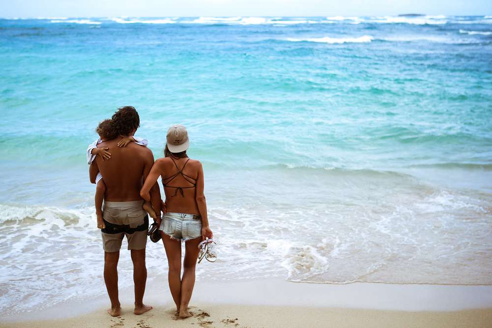 2b1ba8b0a Bree Hannemann and her family wear Teva sandals at the beach in Hawaii.