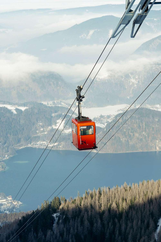 Gondola in Hallstatt