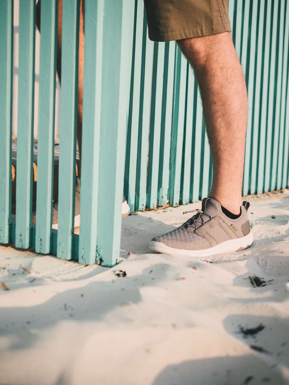 Teva Arrowood Swift sneakers in sand in Mexico