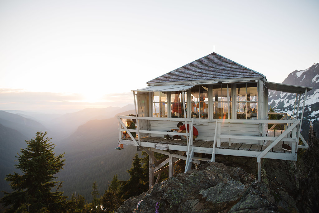 Camp Guide: Overnighter at Park Butte Lookout