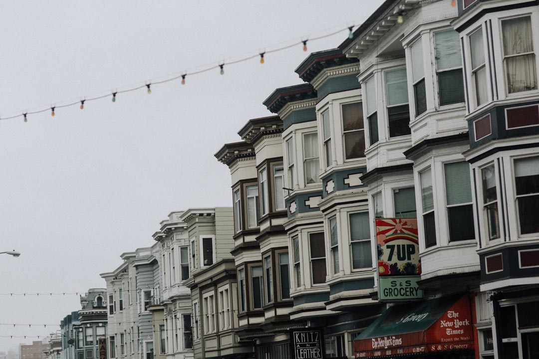 City homes in San Francisco
