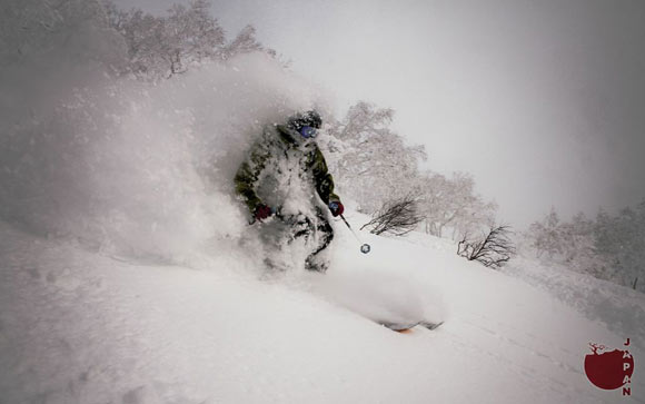 japan snowboarding