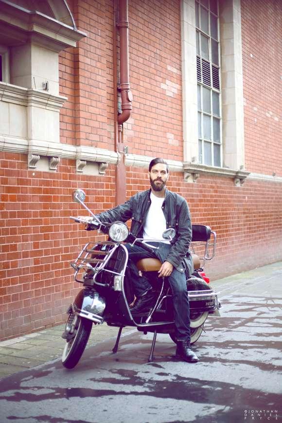 100 beards book motorcycle