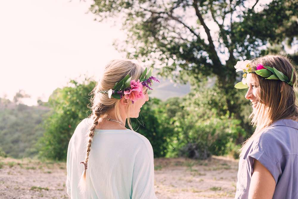 DIY Music Festival Flower Crown