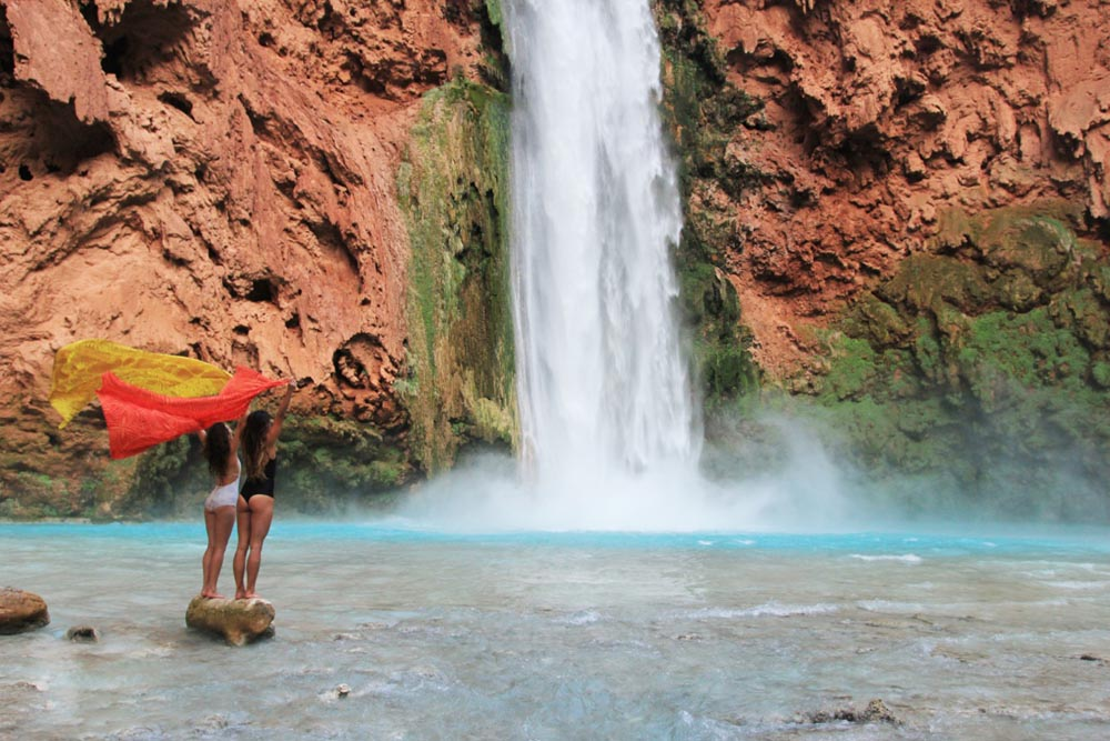 Teva Blog Ember Mooney Falls Trail In Havasupai Arizona