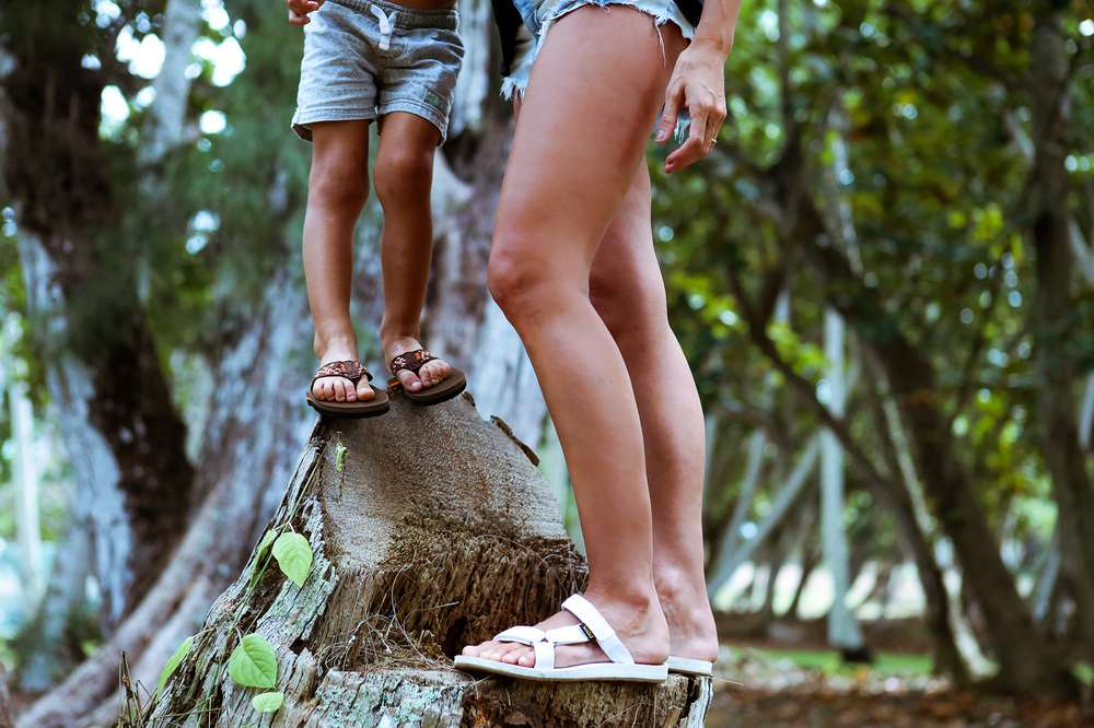 2708354fa Bree Hannemann and her son wear Teva sandals on the North Shore of Oahu