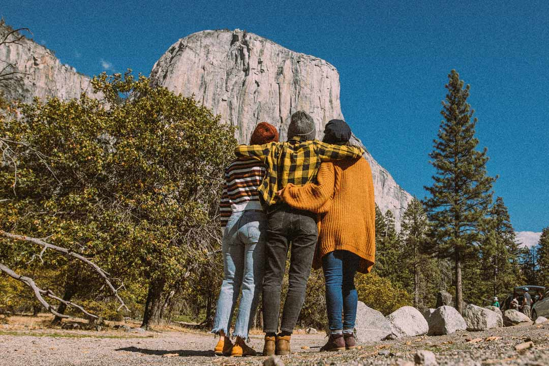 Exploring Yosemite National Park in the Teva Fall Women's Collection