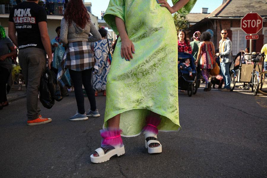 Whitney Mitchell Mardi Gras