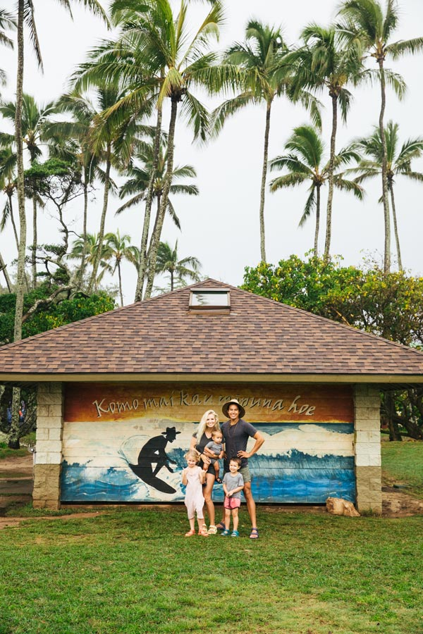 One Saturday in Hawaii with the Bucket List Family