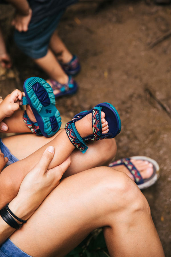 Teva for Toddlers. The Bucket List Family in Hawaii