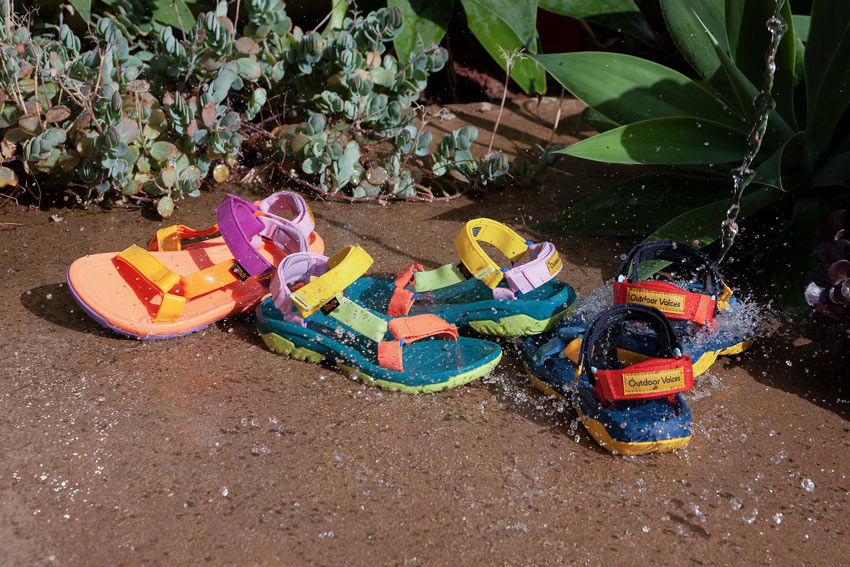 Teva x Outdoor Voices Collection