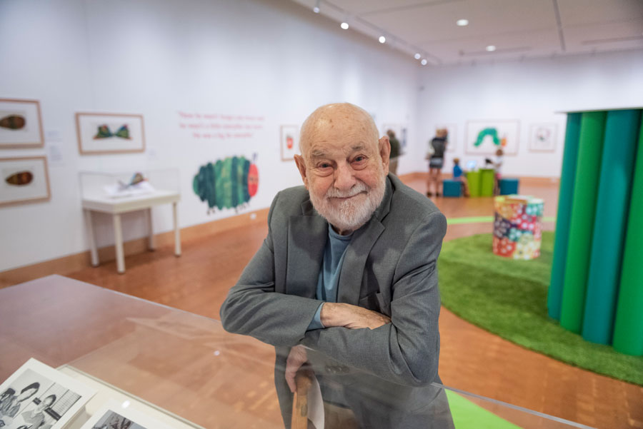Artist and Author Eric Carle