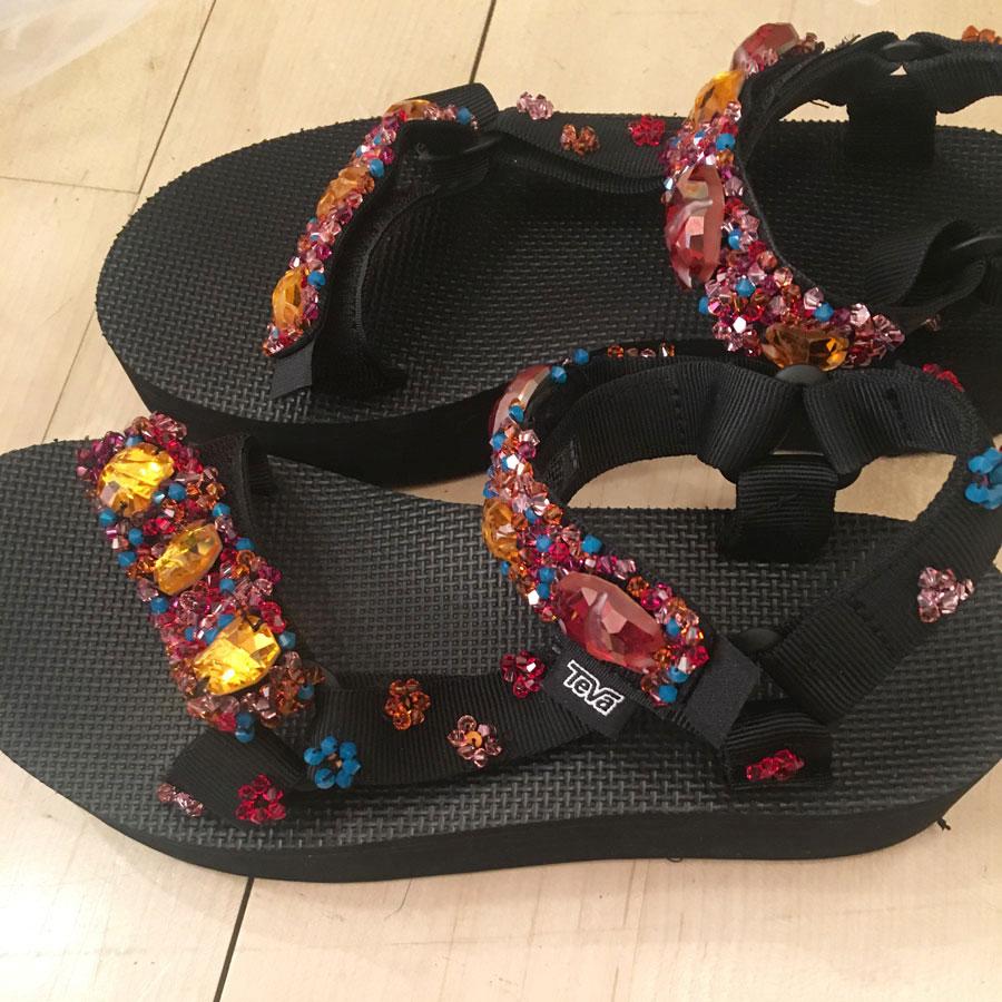 Teva Swarovski Sandals