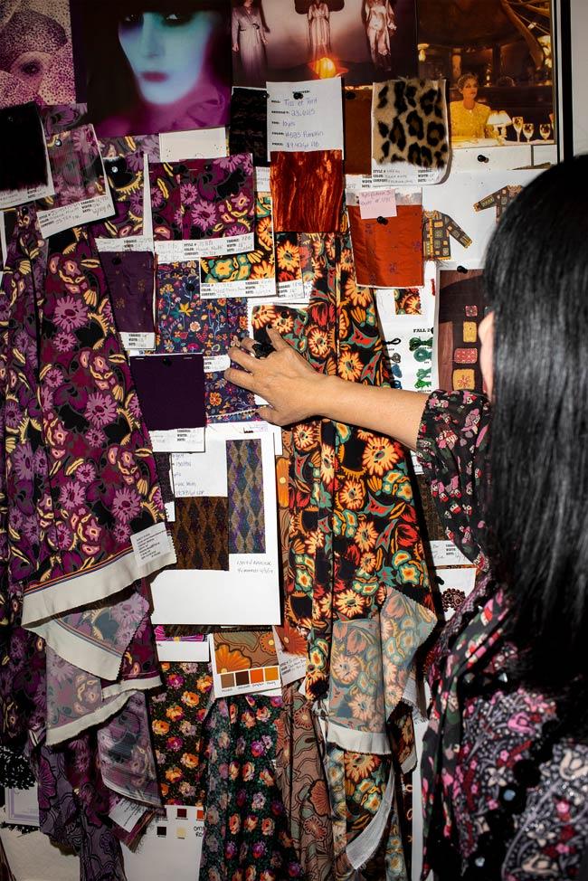 Anna Sui design studio