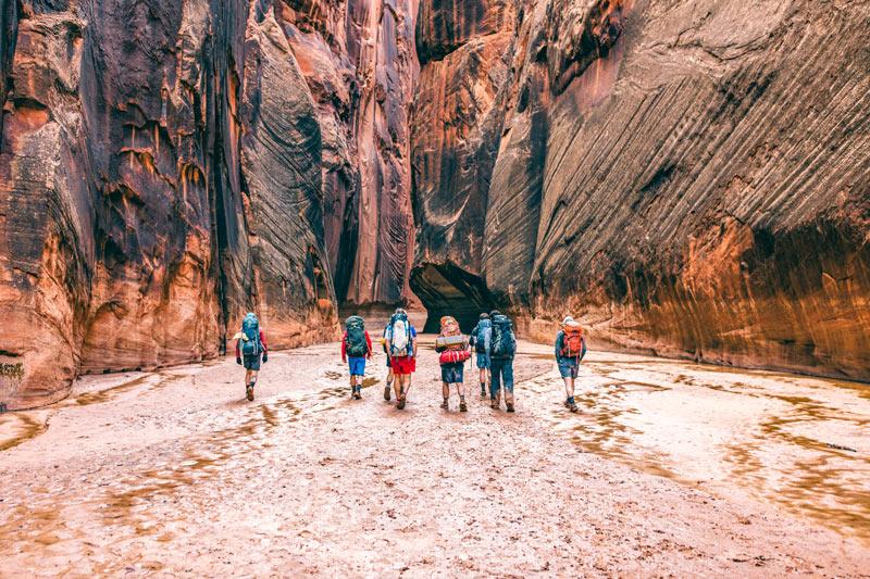 Utah slot canyons
