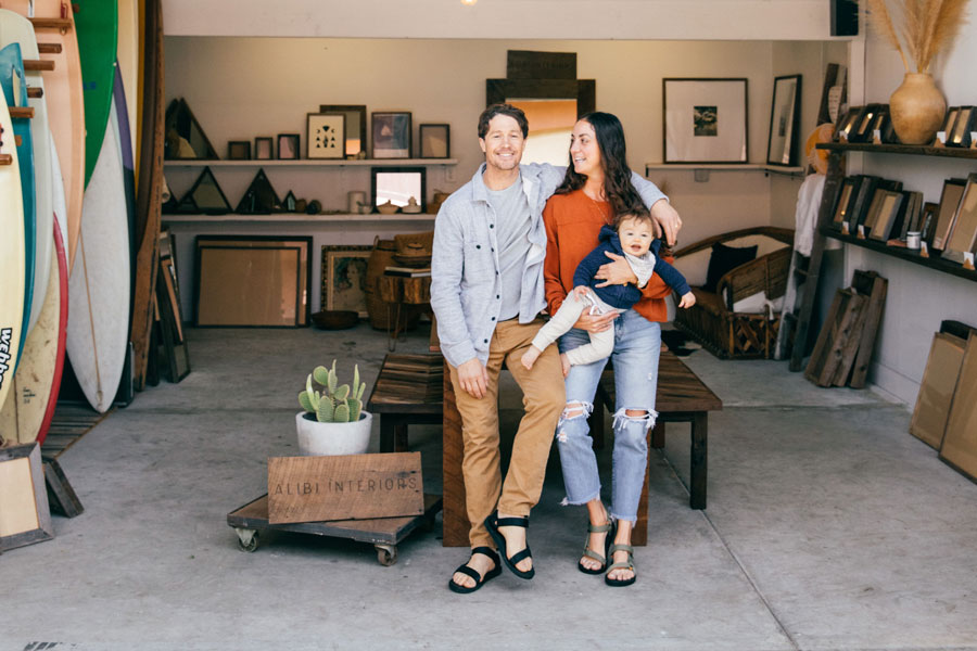 How this Santa Cruz-Based Couple Upcycles Wood into Art