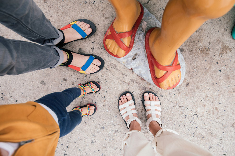 Teva sandals for the whole family