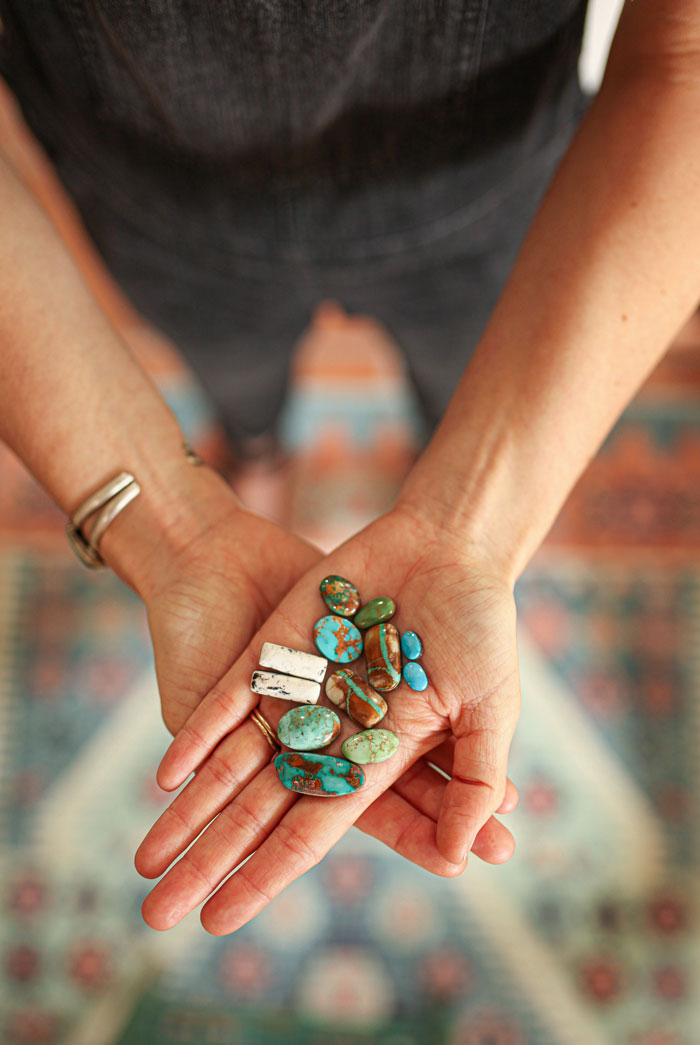 turquoise and other findings