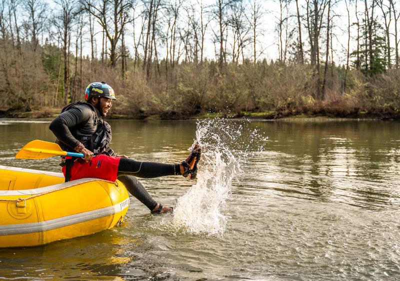 """Being in Whitewater was My Element"" Meet River Guide Blessed Ndlovu"