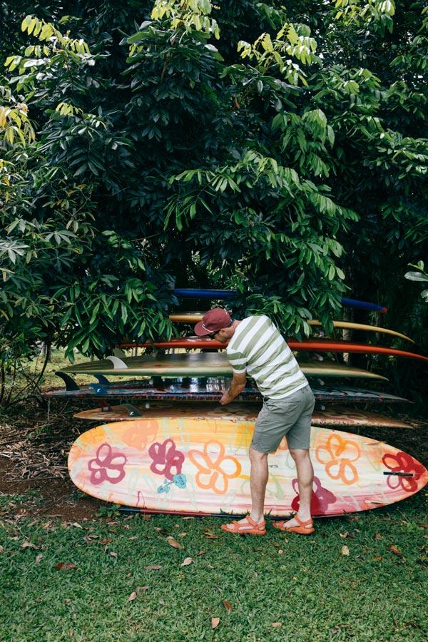 Kauai surfboards