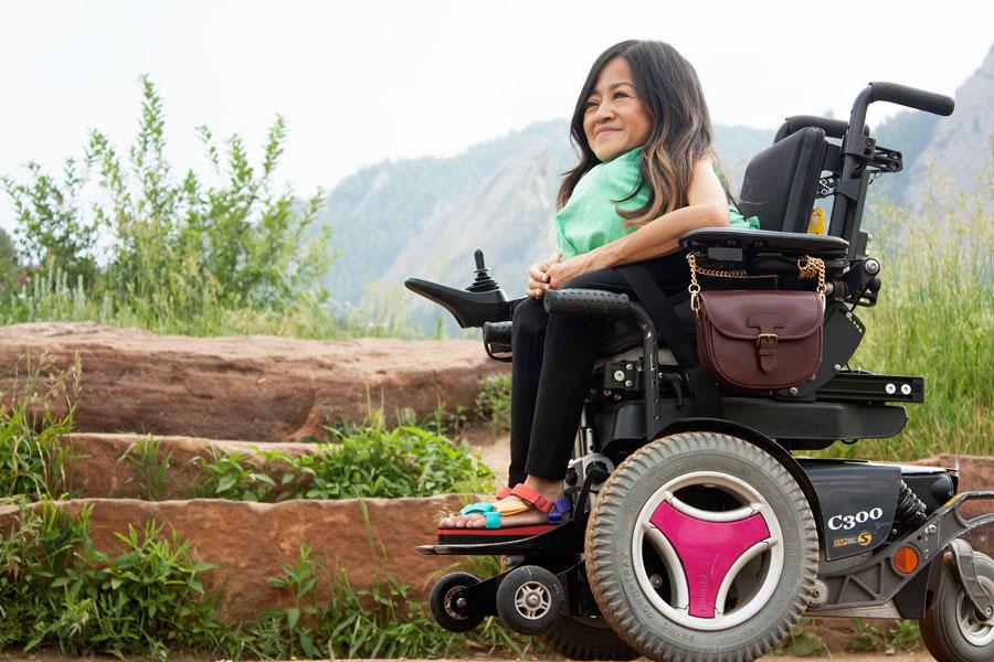 Disability activist Teresa Nguyen explores Colorado's parks.