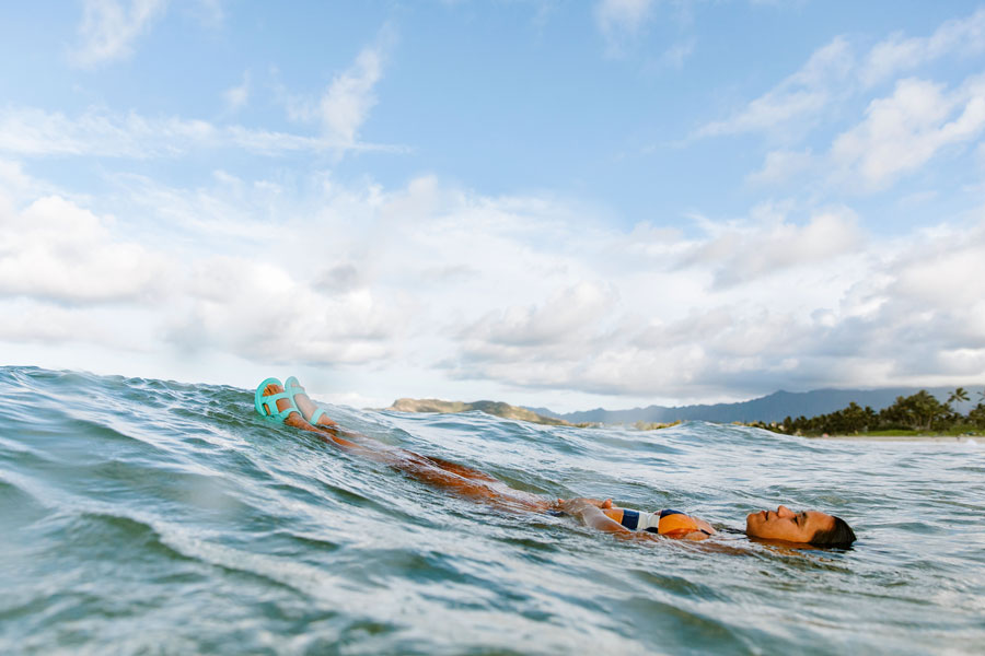 Floating in the Hurricane Drift.
