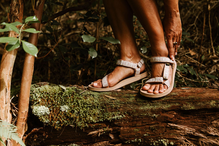 Original Universal sandals.