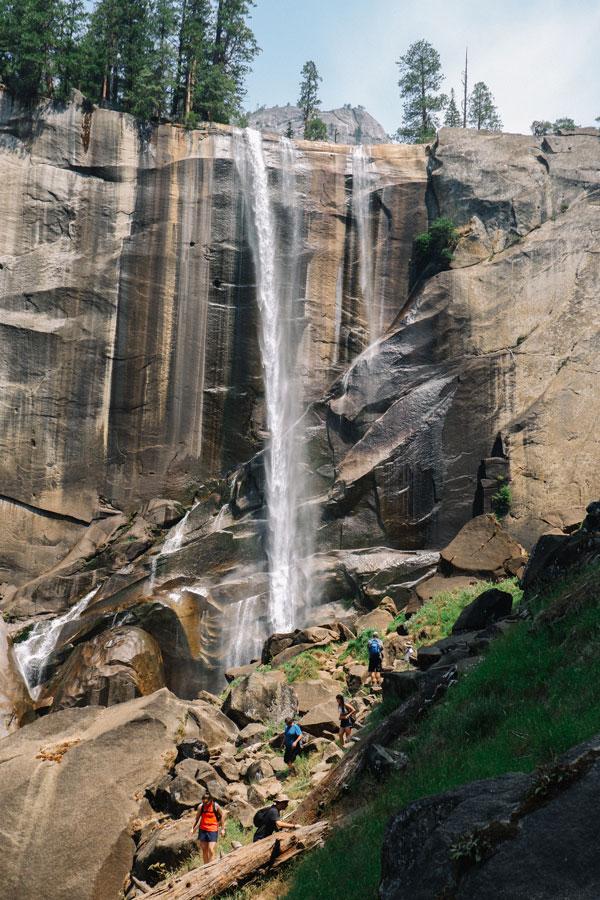 Vernal Falls in Yosemite