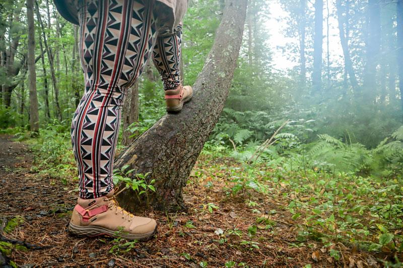 Grandview GTX waterproof hiking boots.